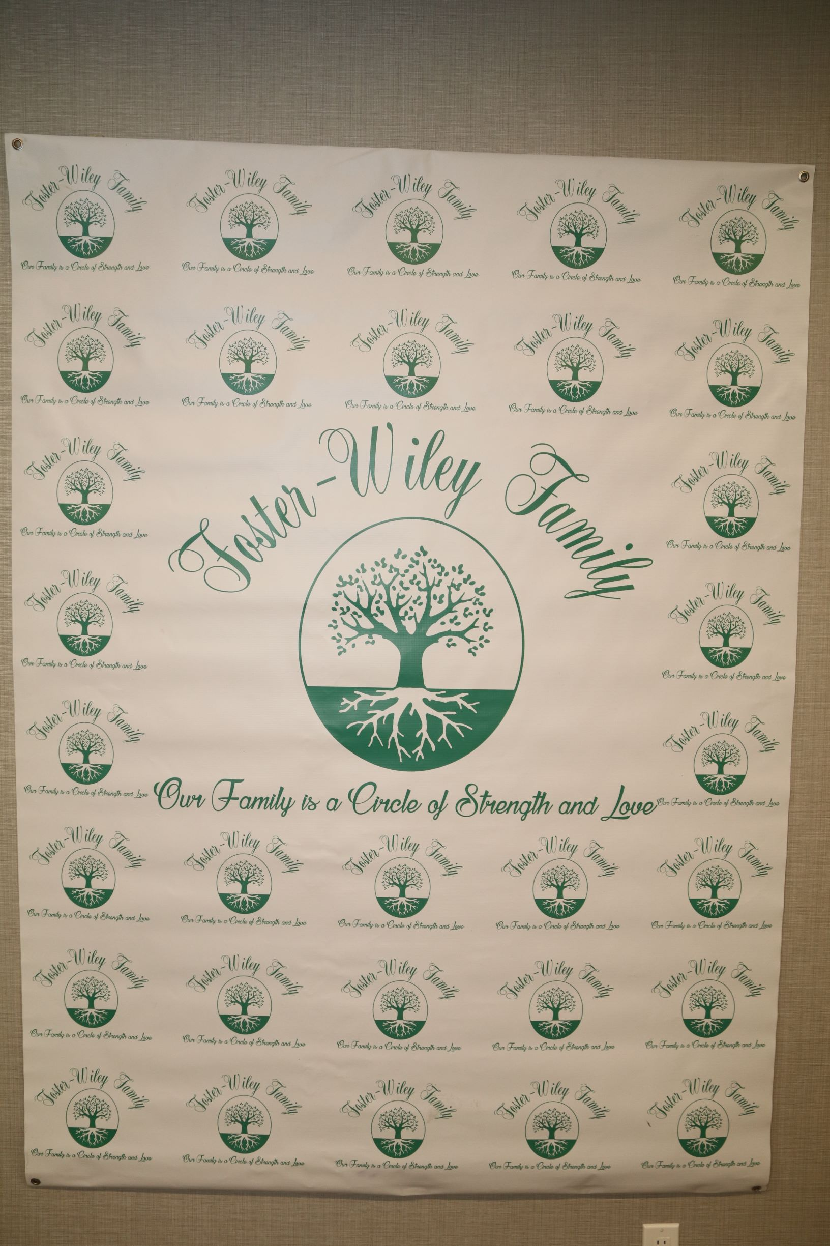 Foster-Wiley Family  Banner