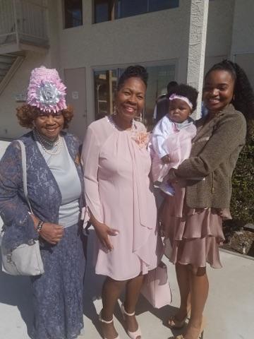 4 Generation of Fosters-Betty, Lorelei, Zakkiyya & Sai