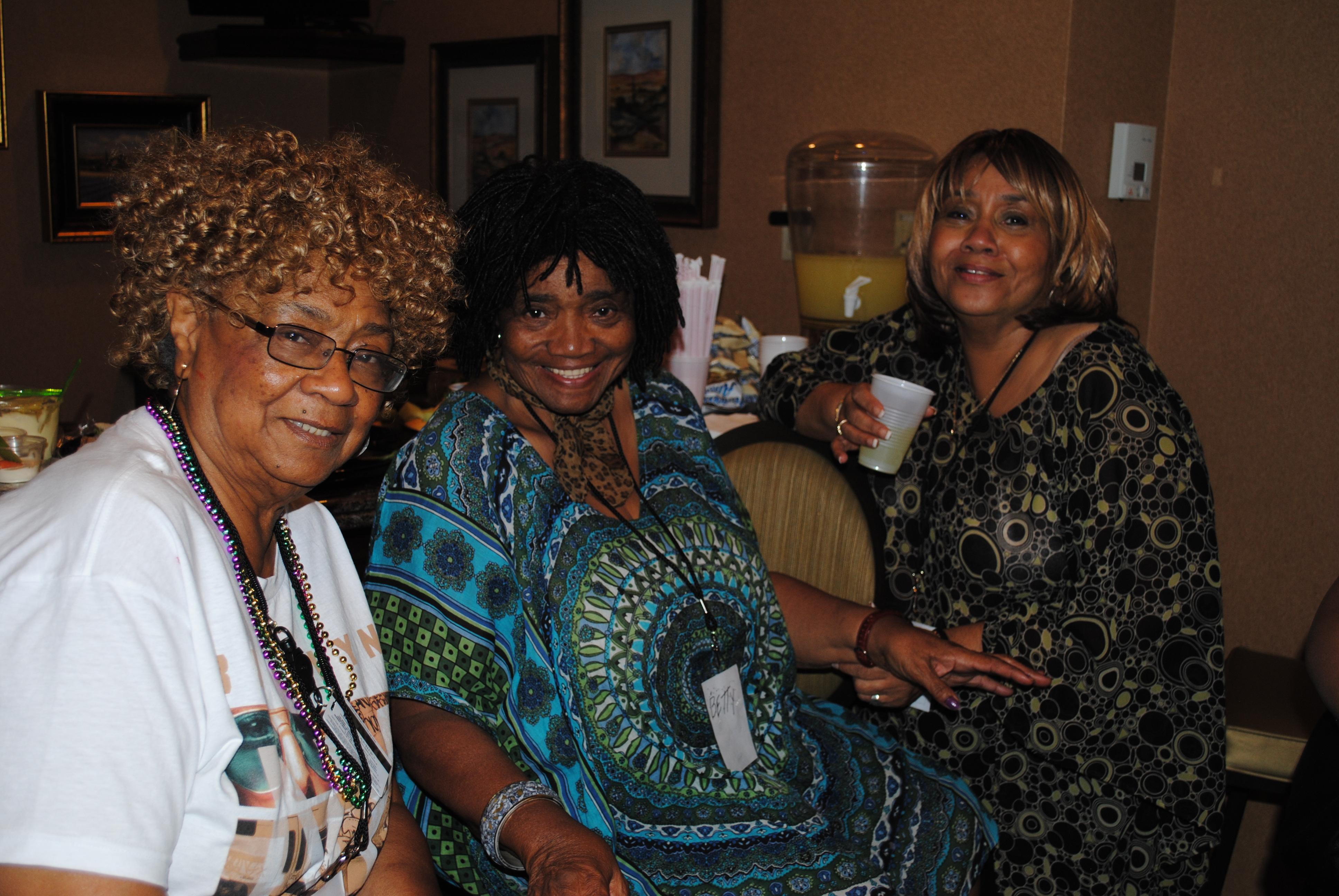My 3 sisters - Stella, Betty & Rachel