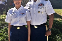 Father_Daughter Army  Soldiers COL Michael & Sierra McLendon